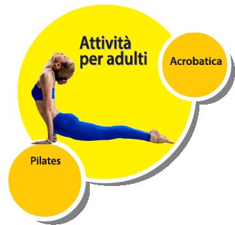 ginnastica e attività per adulti